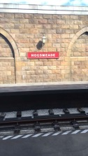 Taking the train to Diagon Alley